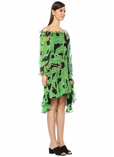 Diane Von Furstenberg Plaj Elbisesi Siyah